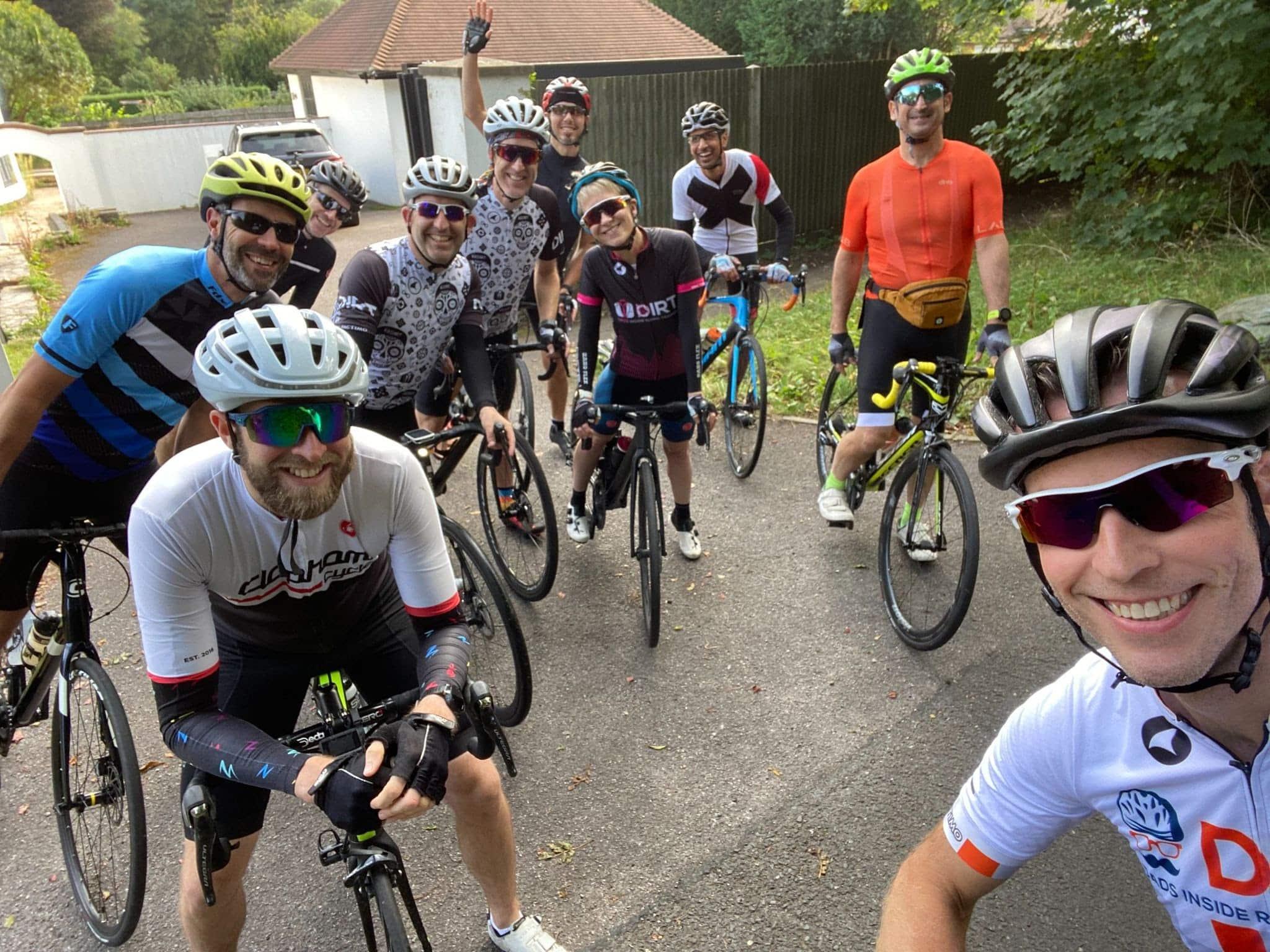 DIRT Zwift team takes a bike ride
