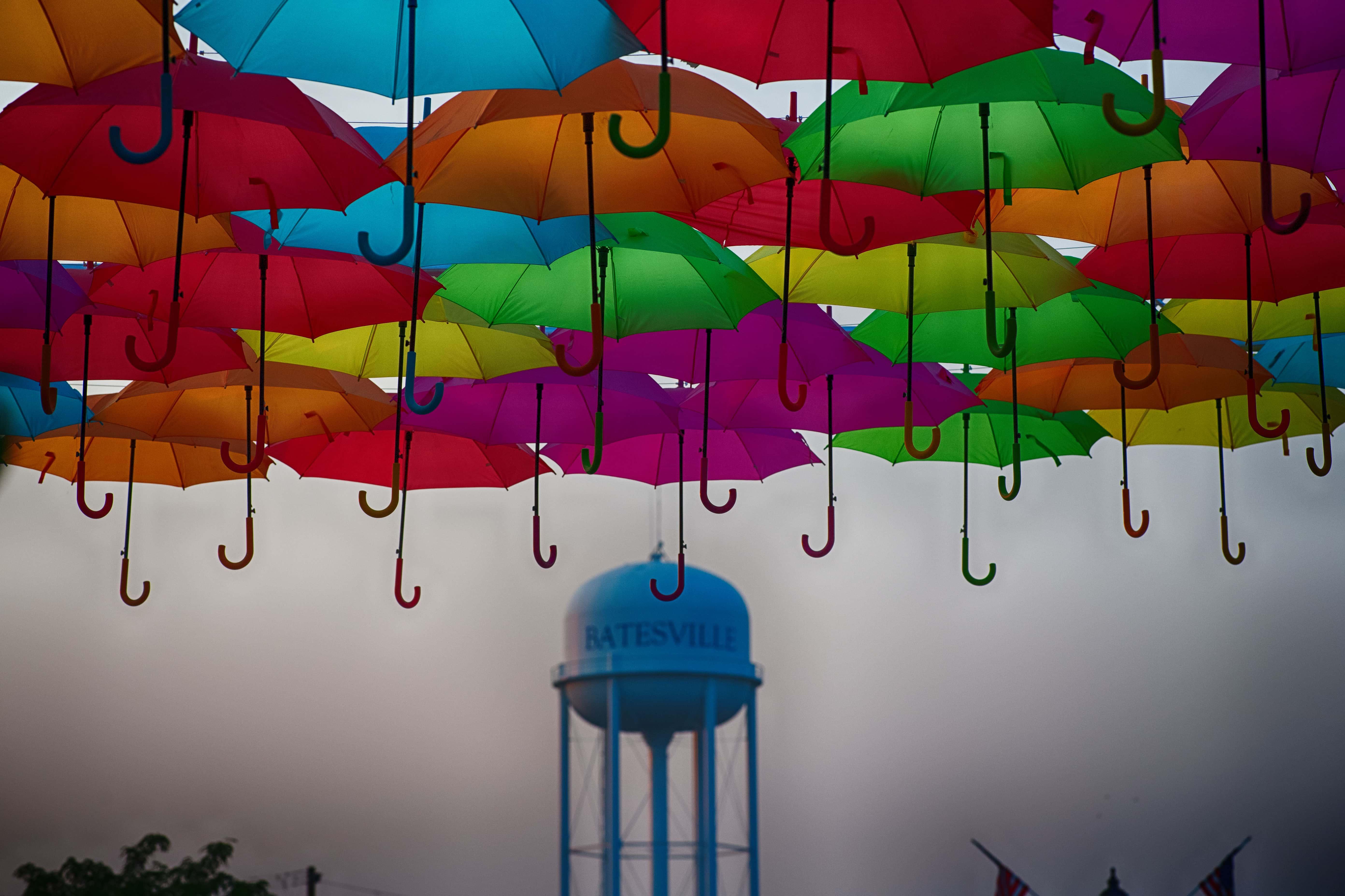 Beautiful Umbrella art