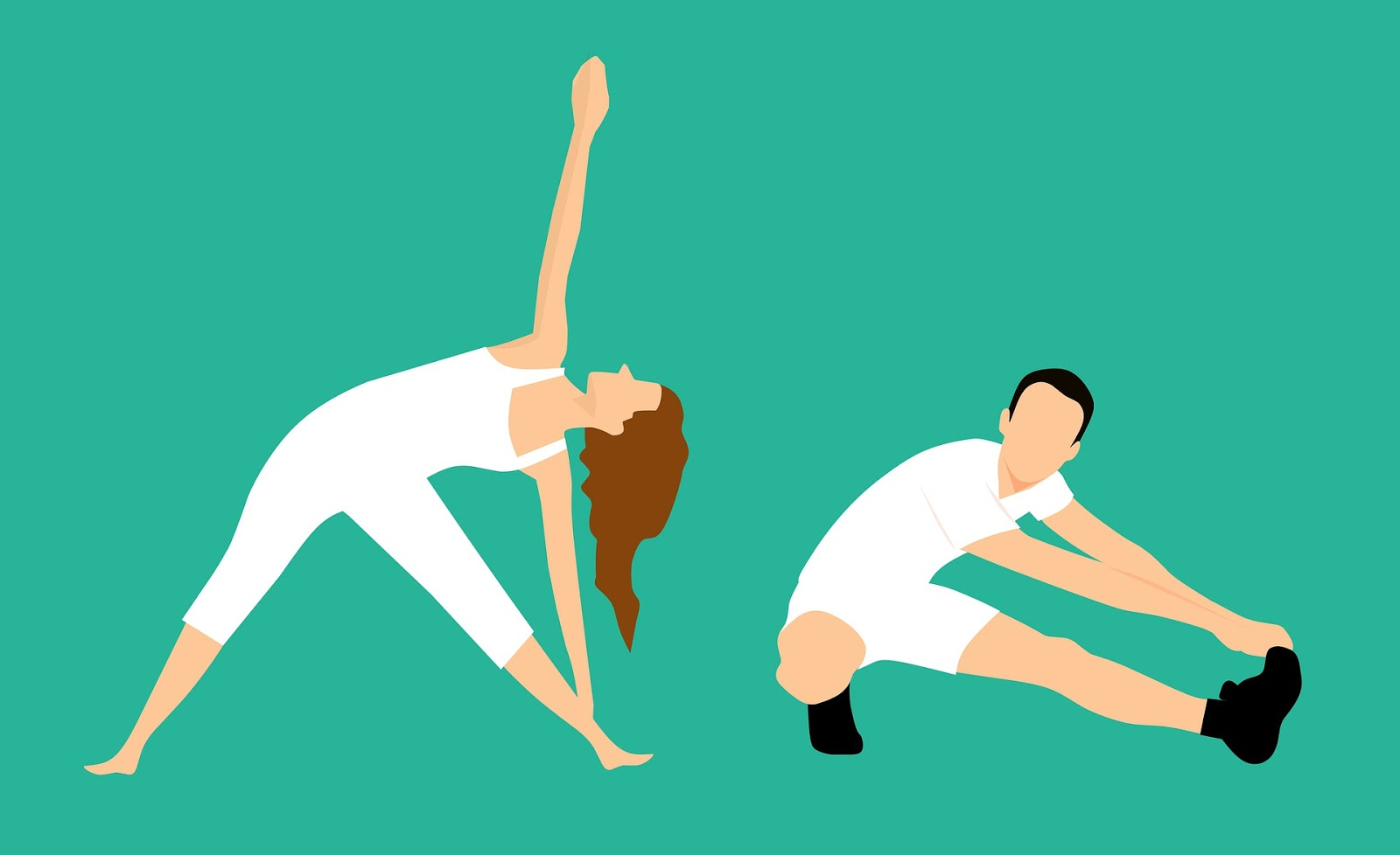 Stretching is important for male and female athletes