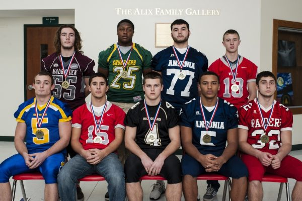 2014 All-NVL Defense (Republican-American archive photo)