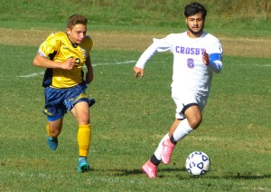 Crosby can earn the top seed in the NVL tourney with two victories. (Palladino/RA)