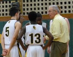 Holy Cross boys basketball Ed Generali