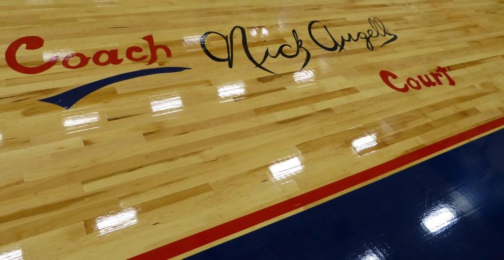 Coach Nick Augelli Court at Crosby High School