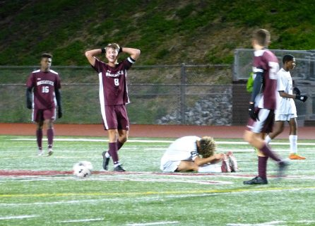 Naugatuck Crosby boys soccer - Jake Corbo (8)