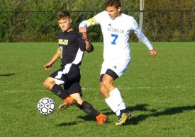 Seymour Woodland boys soccer - Cole Barrows (8) Vadyn Sokhan (7)