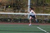 Holy Cross girls tennis - Fiona Xhafi 1
