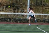 Holy Cross girls tennis - Fiona Xhafi 1