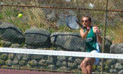 Holy Cross girls tennis - Julia Dzinski 1