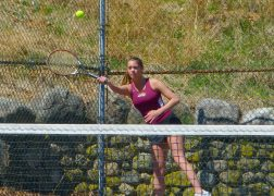 Sacred Heart girls tennis - Ava Longo 2