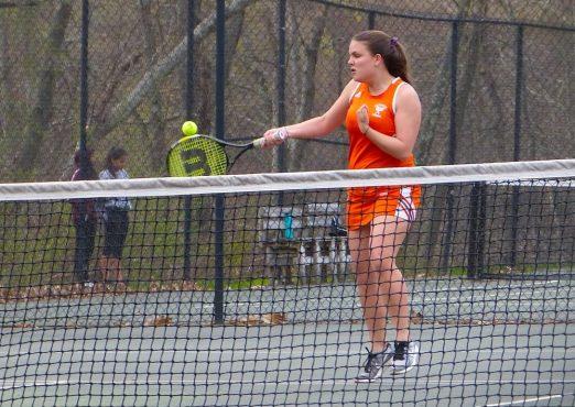 Watertown girls tennis - Bianca Way