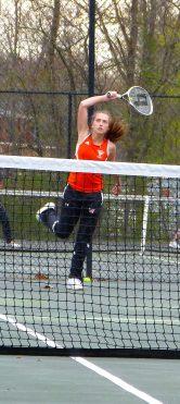 Watertown girls tennis - Emma Kite