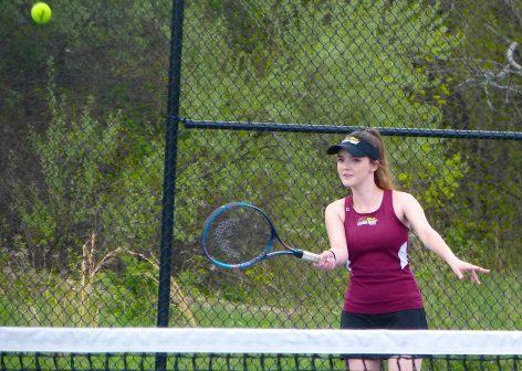 Sacred Heart tennis - Hannah Dombroski 1
