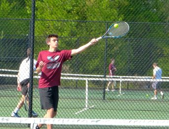 Torrington boys tennis - David Teti 3