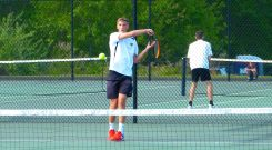 Woodland boys tennis - Josh Powanda 1