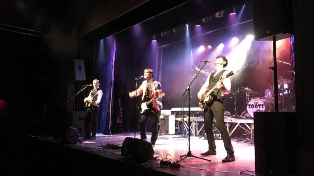 Paignton Sounds of the 60s show, The Zoots, 60s tribute show devon, 60s theatre show