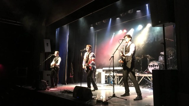 Paignton Sounds of the 60s show, The Zoots, 60s tribute show devon, 60s theatre show