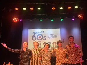 Jamie Goddard, The Zoots band in Stamford, Sounds of the 60s, 60s tribute band, 60s tribute show, 60s theatre band