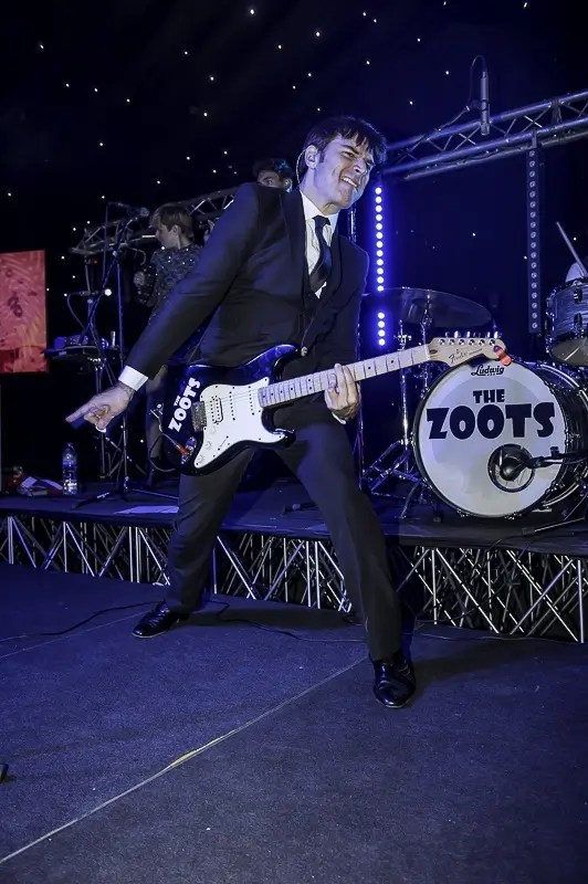 jamie goddard, Zoots band, party band bray
