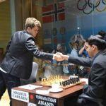 Carlsen en torneo