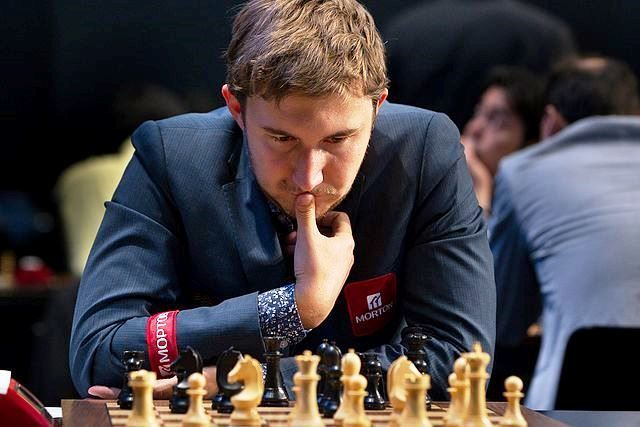 Sergei Karjakin playing