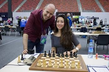 jugadora de ajedrez chilena