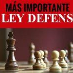 Cómo defenderte: la ley defensiva más importante