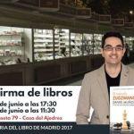 Firma de El Método Zugzwang – Feria del libro Madrid 2017