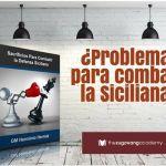 Sacrificios de los profesionales para combatir la Defensa Siciliana