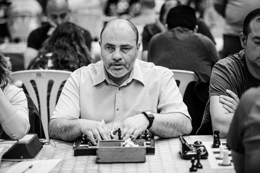 jugador ciego deporte ajedrez