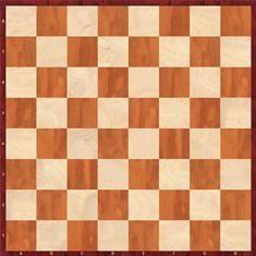 tablero de ajedrez bien colocado