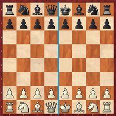 piezas colocadas de ajedrez fichas