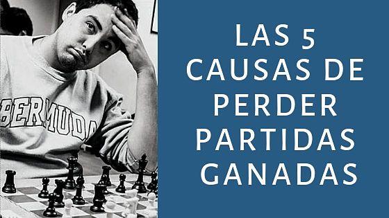 partidas ganadas ajedrez