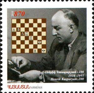 Sello del 2010 en homenaje a Kasparian