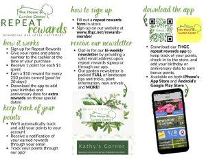 Rewards Program Brochure