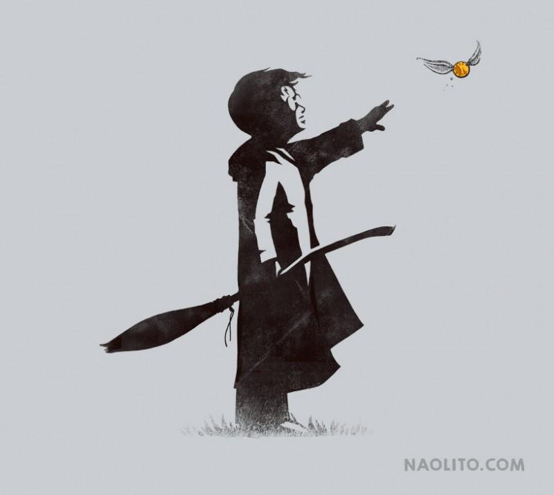 The Snitch Catcher by Nacho Arjona