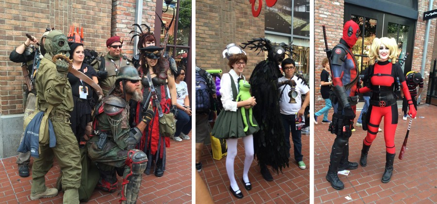 Attendees from Comic-Con 2015