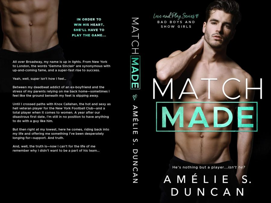 MATCH MADE (Love and Play #2) by Amélie S. Duncan (Full Cover)