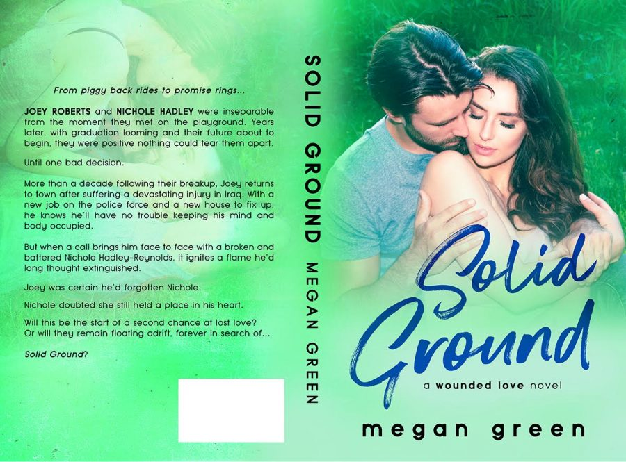 SOLID GROUND (Wounded Love #3) by Megan Green (Full Cover)