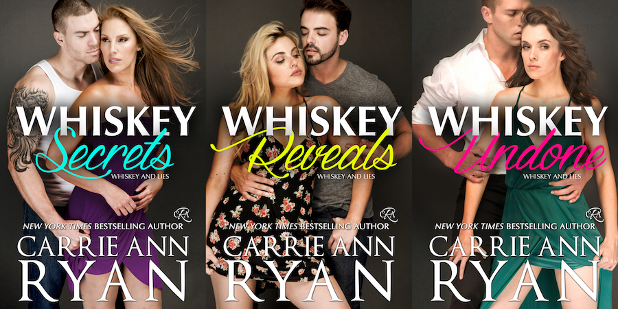 Whiskey and Lies Series by Carrie Ann Ryan