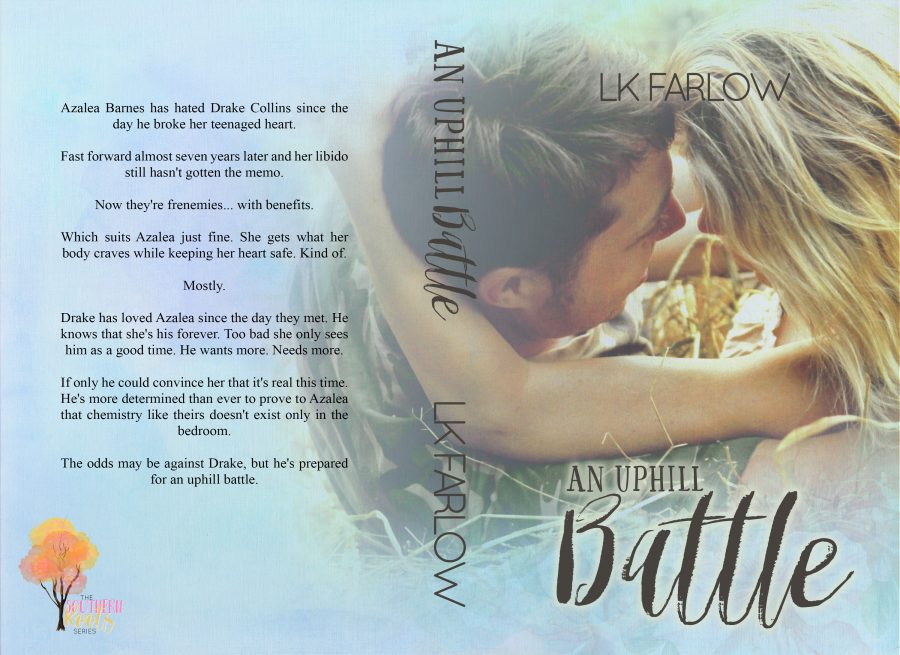 AN UPHILL BATTLE (Southern Roots #2) by LK Farlow (Full Cover)