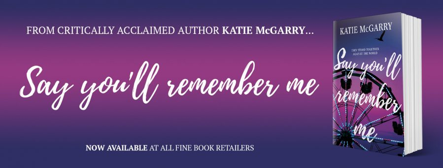 SAY YOU'LL REMEMBER ME Release Day