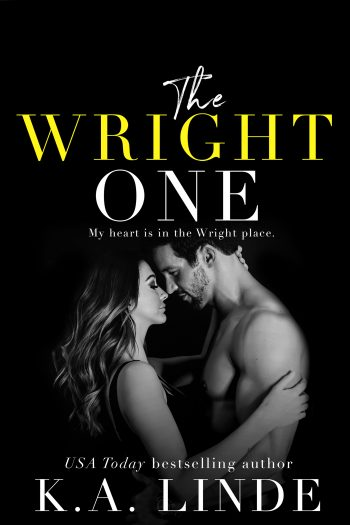 THE WRIGHT ONE (The Wright Duet #2) by K.A. Linde