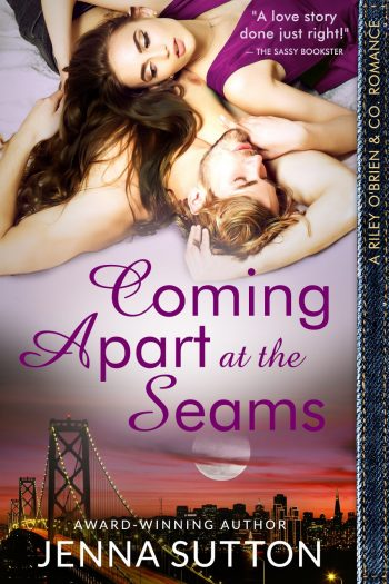 COMING APART AT THE SEAMS ( Riley O'Brien & Co. #2) by Jenna Sutton