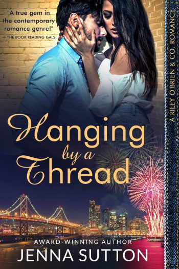 HANGING BY A THREAD ( Riley O'Brien & Co. #3) by Jenna Sutton