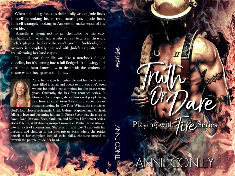 TRUTH OR DARE (Playing With Fire #1) by Anne Conley (Full Cover)