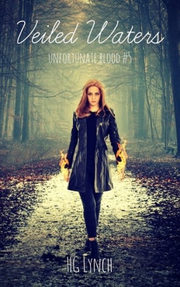 VEILED WATERS (Unfortunate Blood #5) by H.G. Lynch