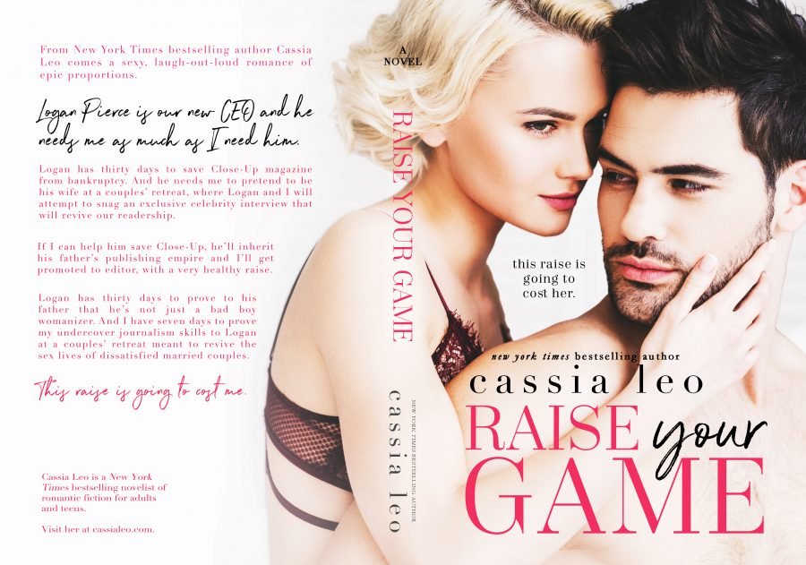 RAISE YOUR GAME by Cassia Leo (Full Cover)