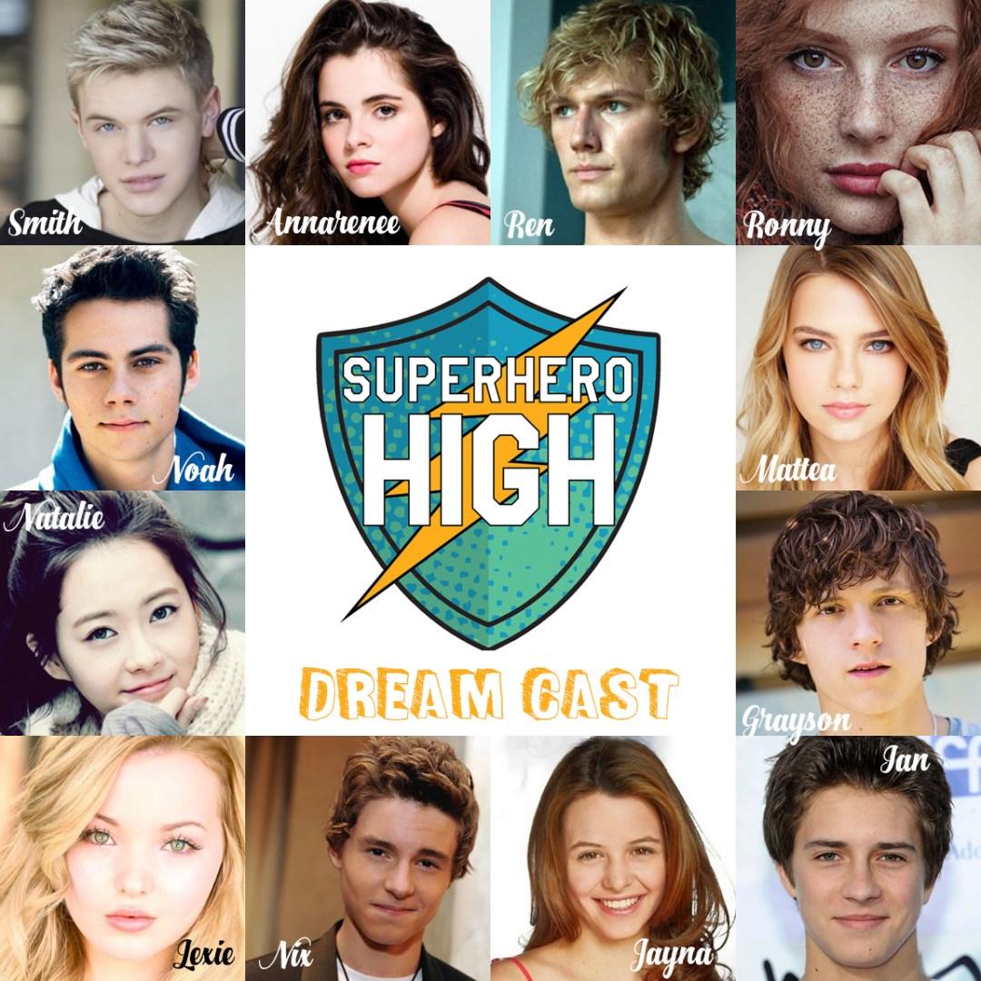 Superhero High Dream Cast