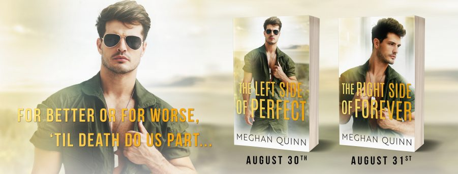 THE LEFT SIDE OF PERFECT and THE RIGHT SIDE OF FOREVER Cover Reveal