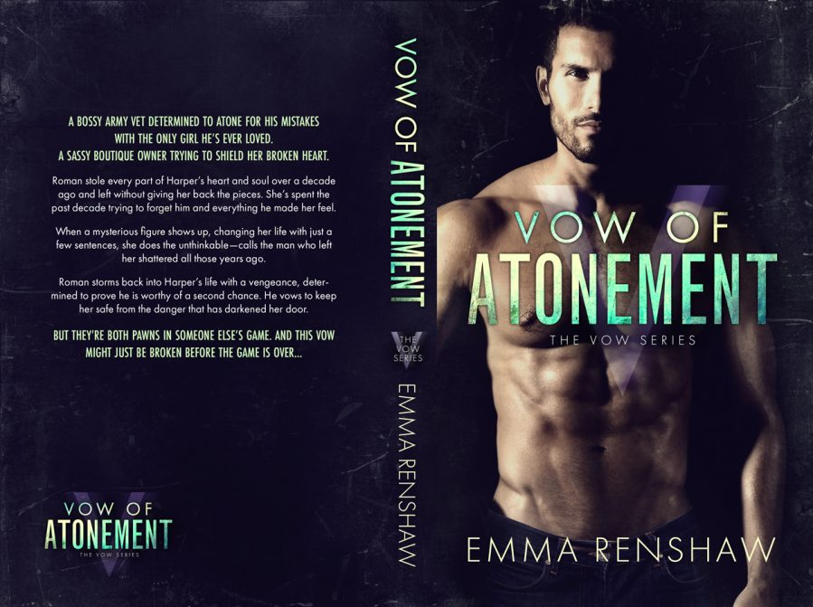 VOW OF ATONEMENT (The Vow Series #2) by Emma Renshaw (Full Cover)